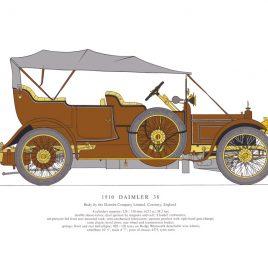 1910 Daimler 38