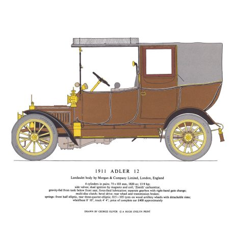 AA08 1911 Adler 12 Laundaulet
