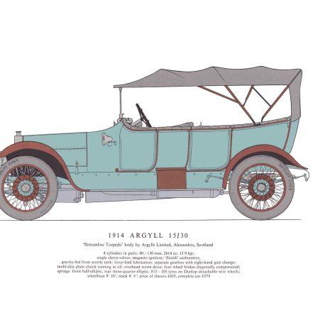 AA11 1914 Argyll 15-30