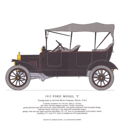 AA12 1912 Ford Model 'T'