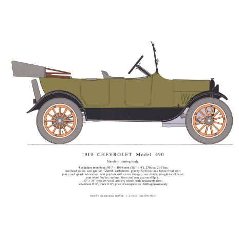 AB01 1919 Chevrolet Model 490