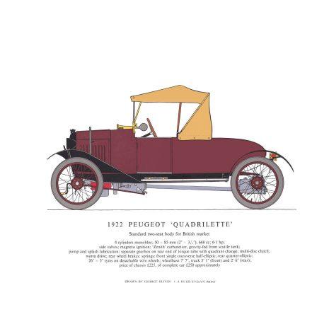 AB02 1922 Peugeot Quadrilette