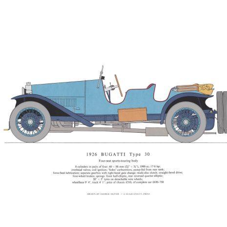 AB04 1926 Bugatti Type 30