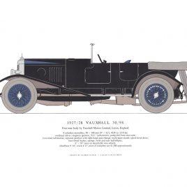 1927-28 Vauxhall 30-98