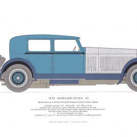 1928 Hispano-Suiza 54