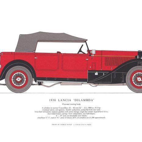 AB11 1930 Lancia 'Dilambda'