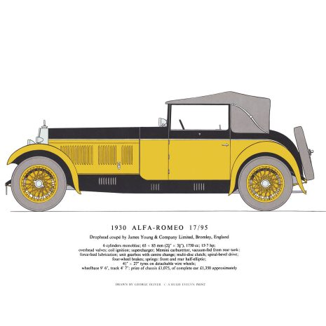 AB12 1930 Alfa-Romeo 17-95