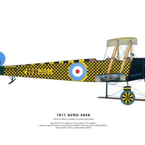 AD06 Avro 504K