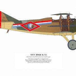 1917 SPAD S.XIII