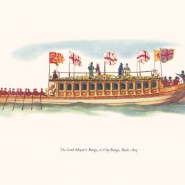 Lord Mayor's Barge or City Barge, 1807