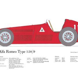 Alfa Romeo Type 158/9, 1951