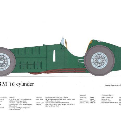 AM07 BRM 16 cylinder