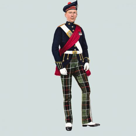 AN19 Officer, The King's Own Scottish Borderers 1959