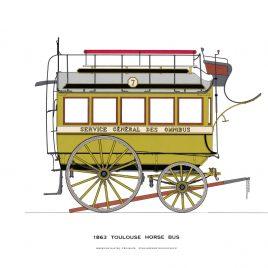 Toulouse Horse Bus, 1863