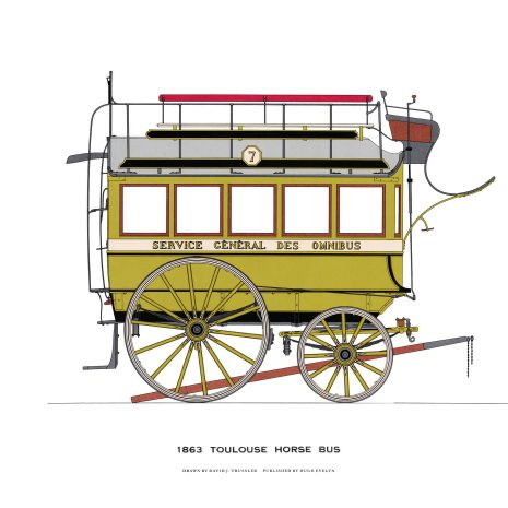 AQ01 Toulouse Horse Bus 1863