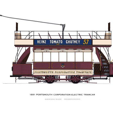AQ04 Portsmouth Corporation Electric Tram 1891