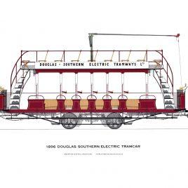1896 Douglas Southern Electric Tramcar