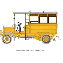 1909 Commer Single-Deck Country Bus