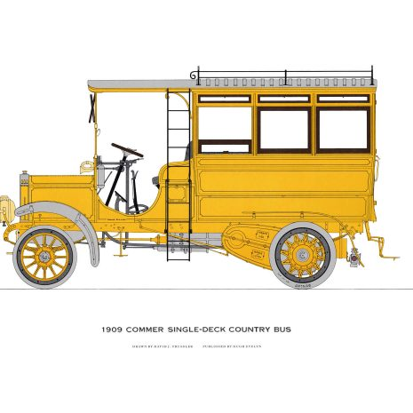 AQ08 Commer Single Deck Country Bus 1909