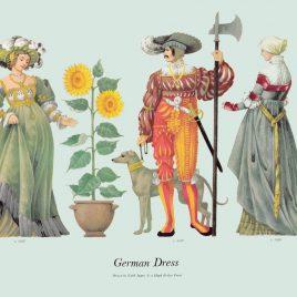 German Dress, 1515-1520