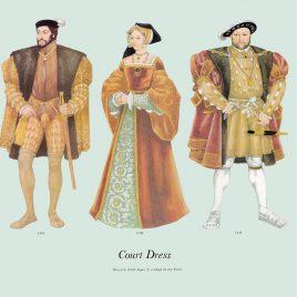 Court Dress, 1533-1537