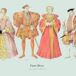 Court Dress, 1539-1547