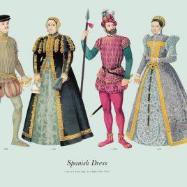 Spanish Dress, 1550-1560