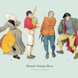 Flemish Peasant Dress, 1565-1568