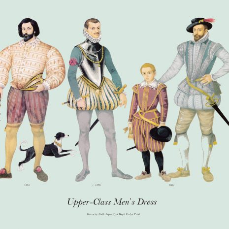 ASI08 Upper-Class Men's Dress 1570-1602