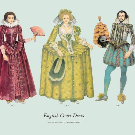 ASI12 English Court Dress 1610-1616