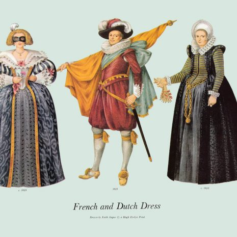 ASI14 French and Dutch Dress 1621-1625