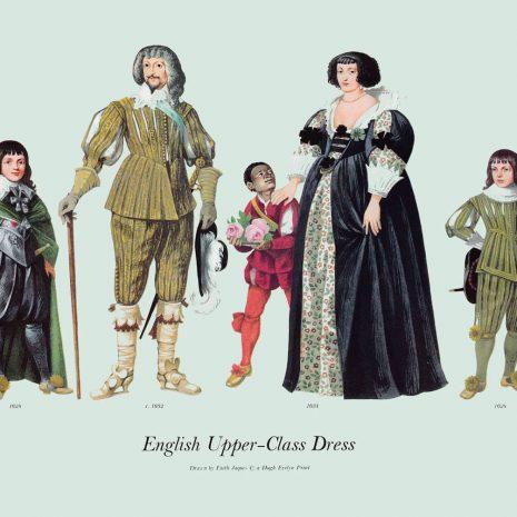 ASI15 English Upper-Class Dress 1628-1634