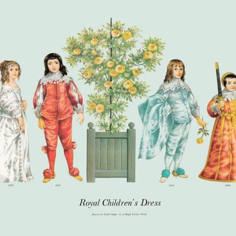 ASI16 Royal Children's Dress 1635-1637