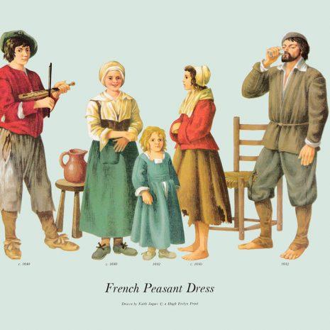 ASI17 French Peasant Dress 1640-1642