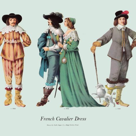 ASI19 French Cavalier Dress 1635-1650