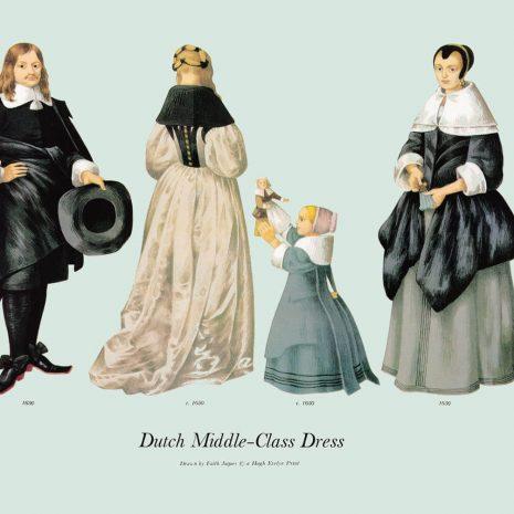 ASI20 Dutch Middle-Class Dress 1650-1656