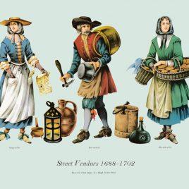 Street Vendors, 1688-1702