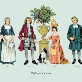Children's Dress, 1705-1715
