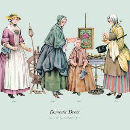 Domestic Dress, 1730-1738