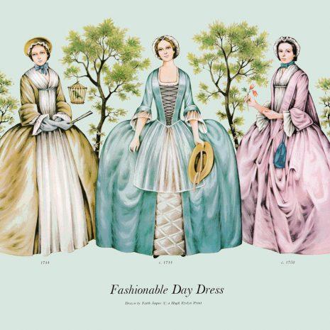 ASII11 Fashionable Day Dress 1744-1752