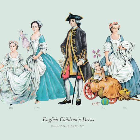 ASII12 English Children's Dress 1740-1744