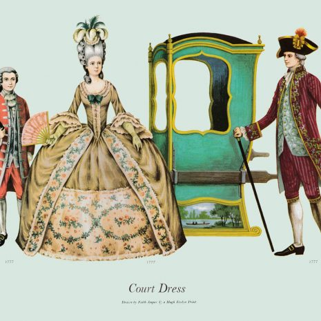 ASII16 Court Dress 1777