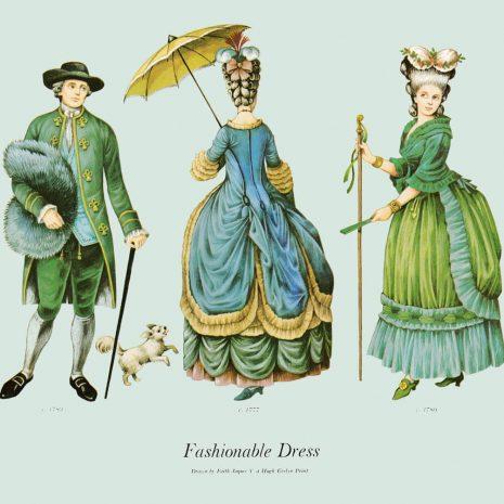 ASII18 Fashionable Dress 1777-1780