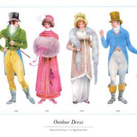 Outdoor Dress, 1804-1808