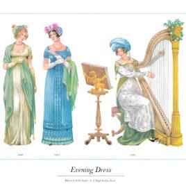 Evening Dress, 1806-1810