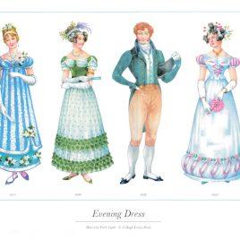Evening Dress, 1815-1826