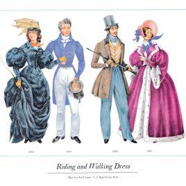 Riding and Walking Dress, 1831-1837