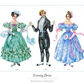 Evening Dress, 1832-1840