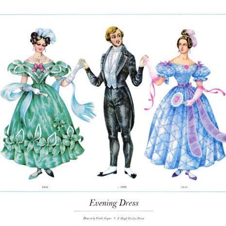 ASIII08 Evening Dress 1832-1840