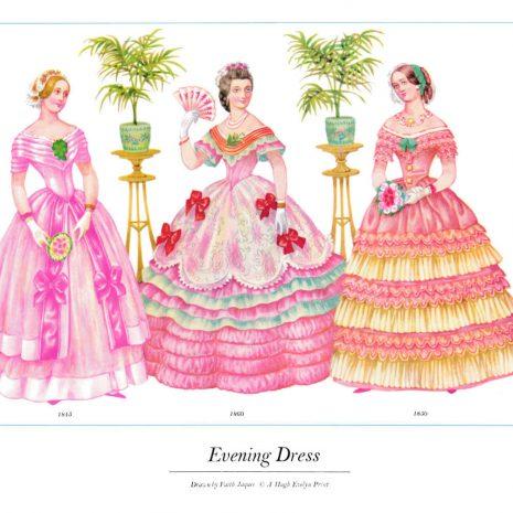 ASIII11 Evening Dress 1845-1860